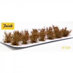 Nízké keře -jemné listí - suchý dub-