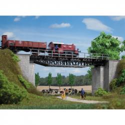 H0 - příhradový most