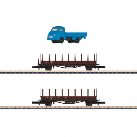 Z - set dvou klanicových vozů Rmms 33 ep.III
