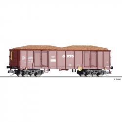 TT - otevřený nákladní vůz Eaos VTG AG s nákladem -brambory- ep.VI